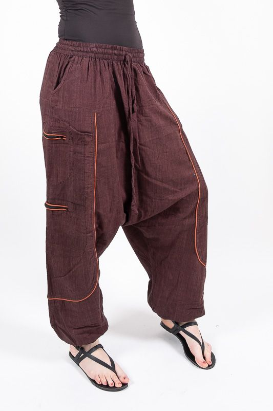 UNISEX turecké kalhoty RAMA z Nepálu z lehčího materiálu NT0053 28B 004 KENAVI