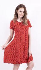 Šaty - tunika CANDY STRIPE - 100% bavla z Nepálu (003)