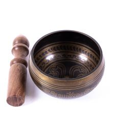 Tibetská zpívající miska prům. 10 cm s paličkou, Nepál