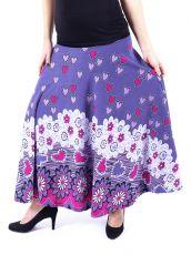 Dámská dlouhá sukně LOLA LONG z teplejšího materiálu (084)
