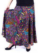 Dámská dlouhá sukně LOLA LONG z teplejšího materiálu (087)