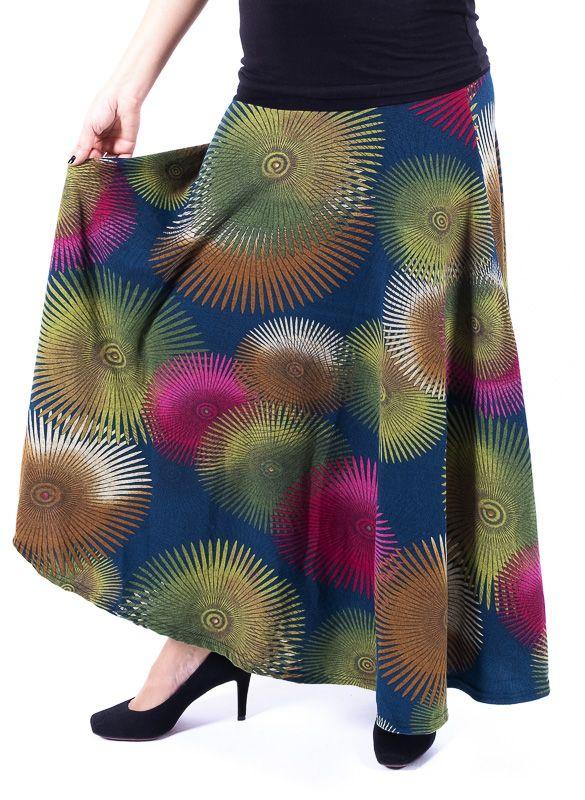 Dámská dlouhá sukně LOLA z teplejšího materiálu TT0100 01 088