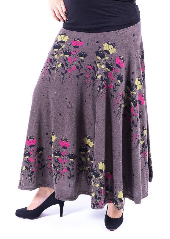 Dámská dlouhá sukně LOLA z teplejšího materiálu TT0100 01 089