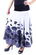 Dámská dlouhá sukně LOLA LONG z teplejšího materiálu (090)