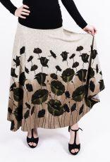 Dámská dlouhá sukně LOLA LONG z teplejšího materiálu (075)