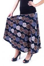 Dámská dlouhá sukně LOLA LONG z teplejšího materiálu (091)
