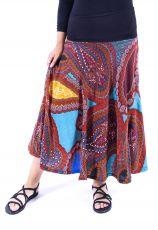Dámská dlouhá sukně LOLA LONG z teplejšího materiálu (092)