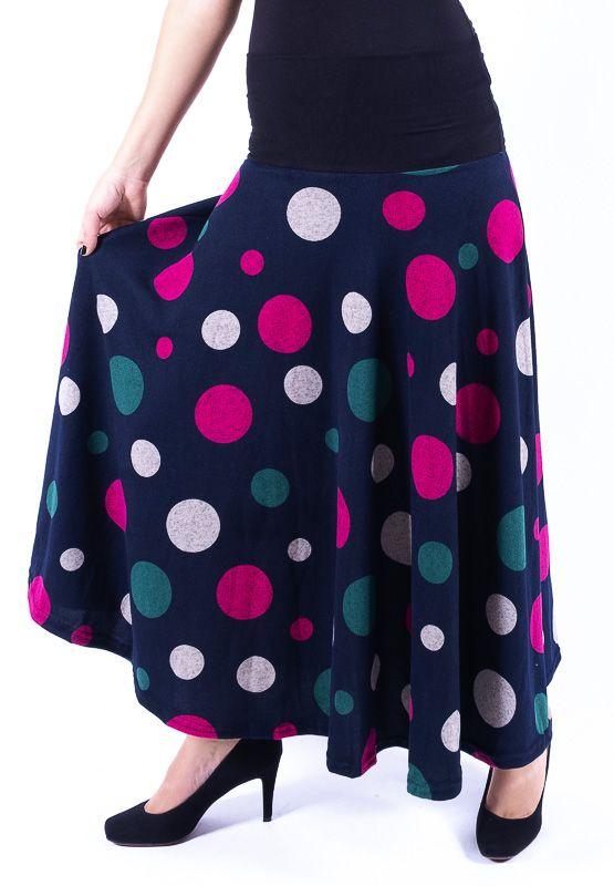Dámská dlouhá sukně LOLA z teplejšího materiálu TT0100 01 093