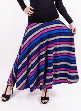 Dámská dlouhá sukně LOLA LONG z teplejšího materiálu (076)
