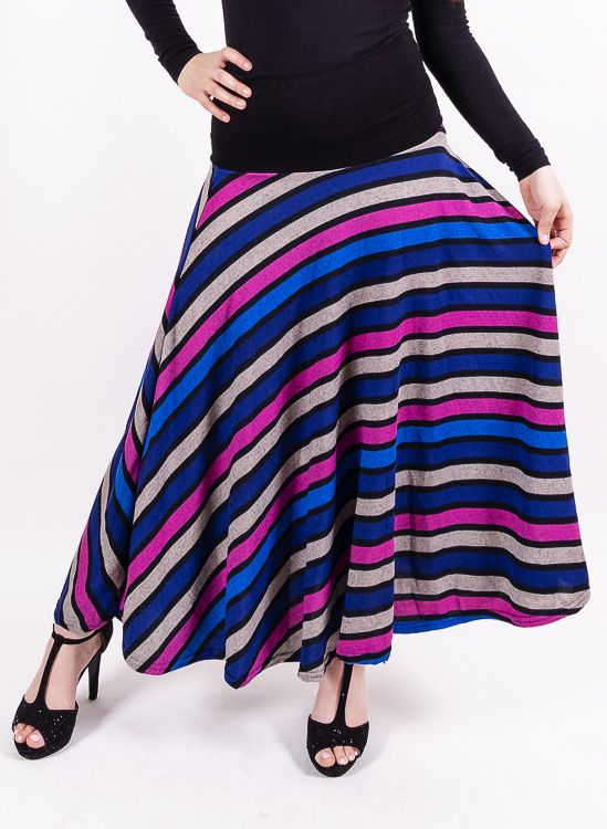 Dámská dlouhá sukně LOLA z teplejšího materiálu TT0100 01 076