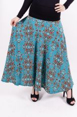 Dámská dlouhá sukně LOLA LONG z teplejšího materiálu (077)