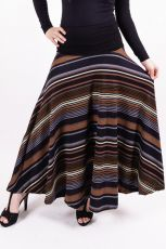 Dámská dlouhá sukně LOLA LONG z teplejšího materiálu (078)