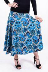Dámská dlouhá sukně LOLA LONG z teplejšího materiálu (079)