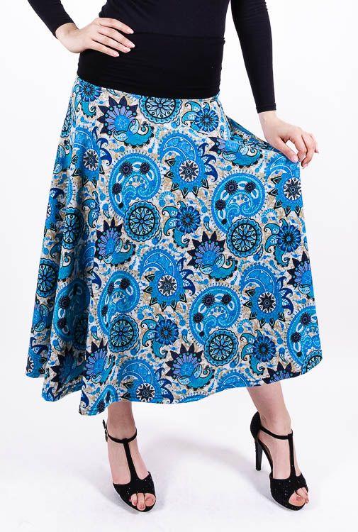 Dámská dlouhá sukně LOLA z teplejšího materiálu TT0100 01 079