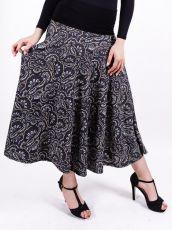 Dámská dlouhá sukně LOLA LONG z teplejšího materiálu (081)