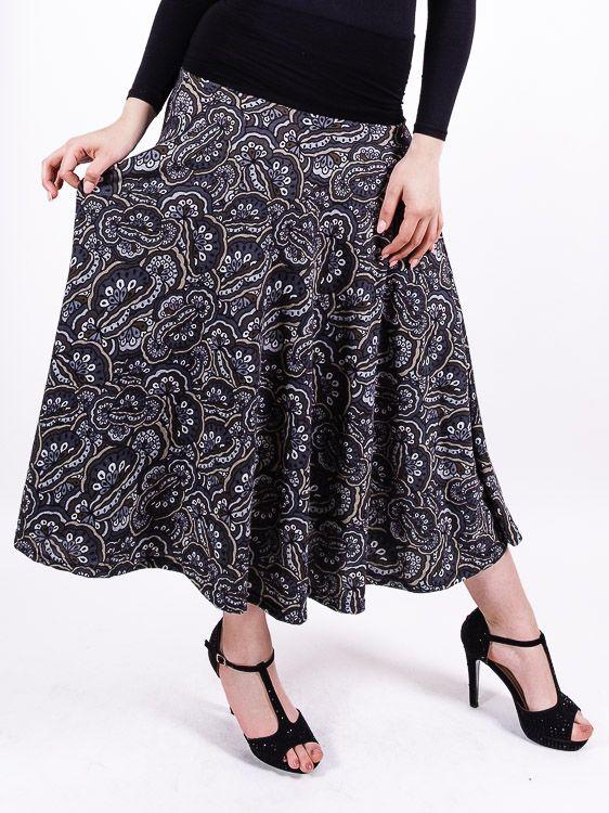 Dámská dlouhá sukně LOLA z teplejšího materiálu TT0100 01 081