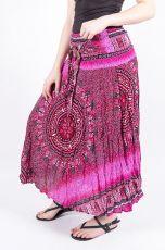 Dámská letní dlouhá sukně LAURA V, viskóza Thajsko (063)