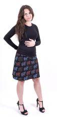 Dámská letní krátká sukně PLAZA, bavlna Nepál  NT0101-14-011