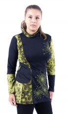 Dámská tunika s roláčkem WINTER BLOW NEO, ruční práce Nepál NT0048 06 004 KENAVI