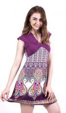 Dámské letní šaty z pružného materiálu  TT0024-0-164