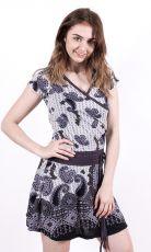 Dámské letní šaty z pružného materiálu  TT0024-0-165