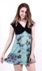 Dámské letní šaty z pružného materiálu  TT0024-0-166