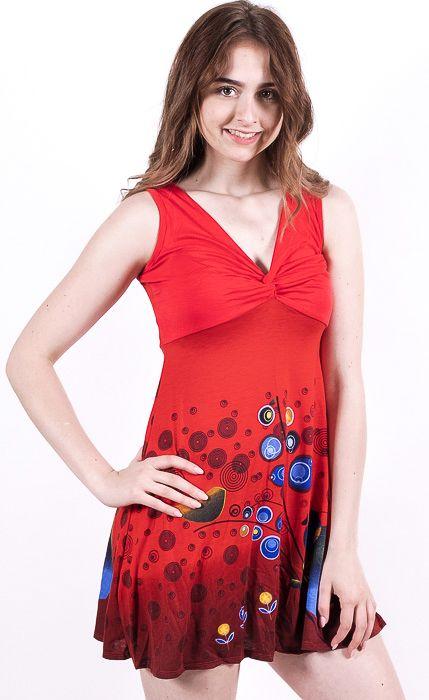 Dámské letní šaty - tunika - z pružného materiálu TT0024 0 167