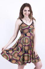 Dámské letní šaty z pružného materiálu  TT0024-0-168