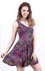 Dámské letní šaty z pružného materiálu  TT0024-0-170
