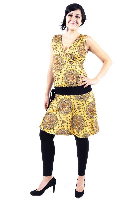 Dámské letní šaty - tunika - z pružného materiálu TT0024 0 173