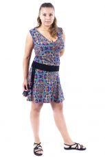 Dámské letní šaty z pružného materiálu  TT0024-0-175