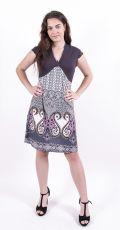 Dámské letní šaty z pružného materiálu  TT0024-0-159