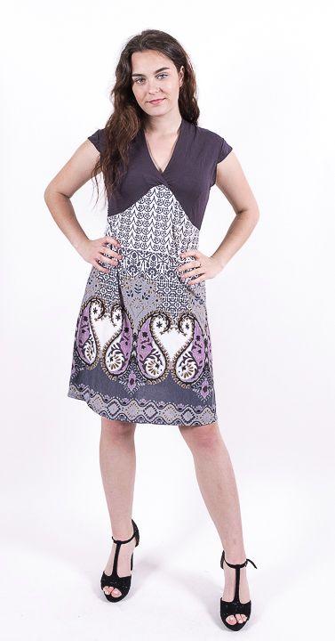 Dámské letní šaty - tunika - z pružného materiálu TT0024 0 159