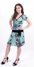 Dámské letní šaty z pružného materiálu  TT0024-0-160