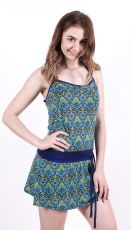 Dámské letní šaty z pružného materiálu TT0024-0-157