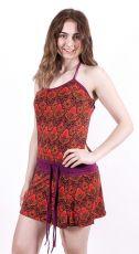 Dámské letní šaty z pružného materiálu TT0024-0-156