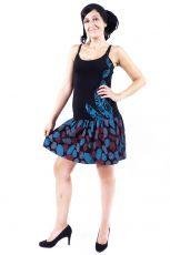 Dámské šaty z Nepálu FEATHER, 100% bavlna  NT0048-90-002