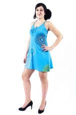 Dámské šaty z Nepálu INFINITY, 100% bavlna  NT0048-86-002