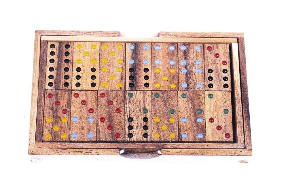 Dřevěné cestovní domino TD0049