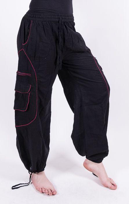 Kalhoty TEARS (unisex), měkčená letní bavlna NT0053 35 004 KENAVI