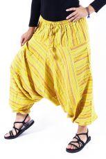 Kalhoty turecké GOLD, bavlna Nepál   (019)