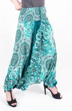 Kalhoty turecké harémové ORIGIN viskóza Thajsko (173)