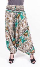 Kalhoty turecké harémové ORIGIN viskóza Thajsko (174)