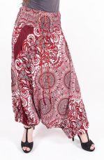 Kalhoty turecké harémové ORIGIN viskóza Thajsko (176)
