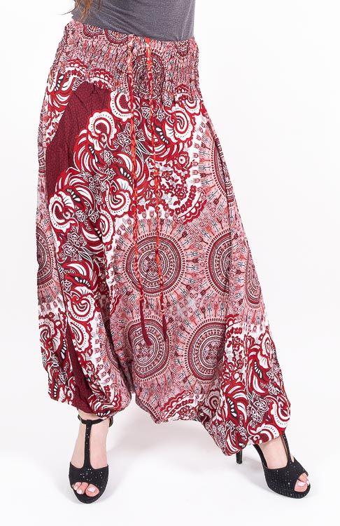 Kalhoty turecké harémky ORIGIN viskóza Thajsko TT0043 176