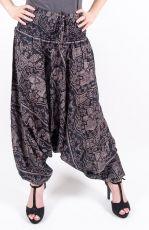 Kalhoty turecké harémové ORIGIN viskóza Thajsko (177)