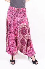 Kalhoty turecké harémové ORIGIN viskóza Thajsko (179)