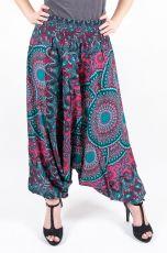Kalhoty turecké harémové ORIGIN viskóza Thajsko (183)
