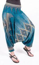 Kalhoty turecké harémové ORIGIN viskóza Thajsko (184)