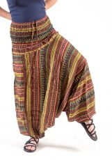 Kalhoty turecké harémové ORIGIN viskóza Thajsko (166)